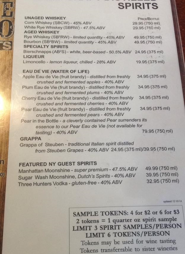 beers available on the lake erie wine country trail