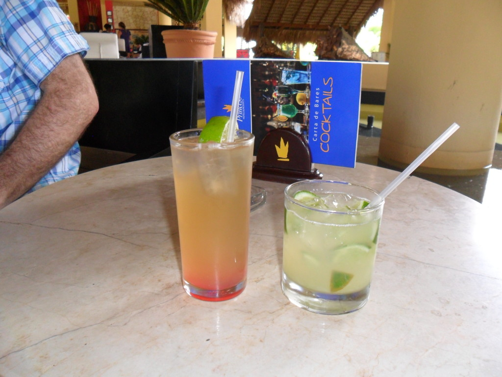 tropical drinks in punta cana