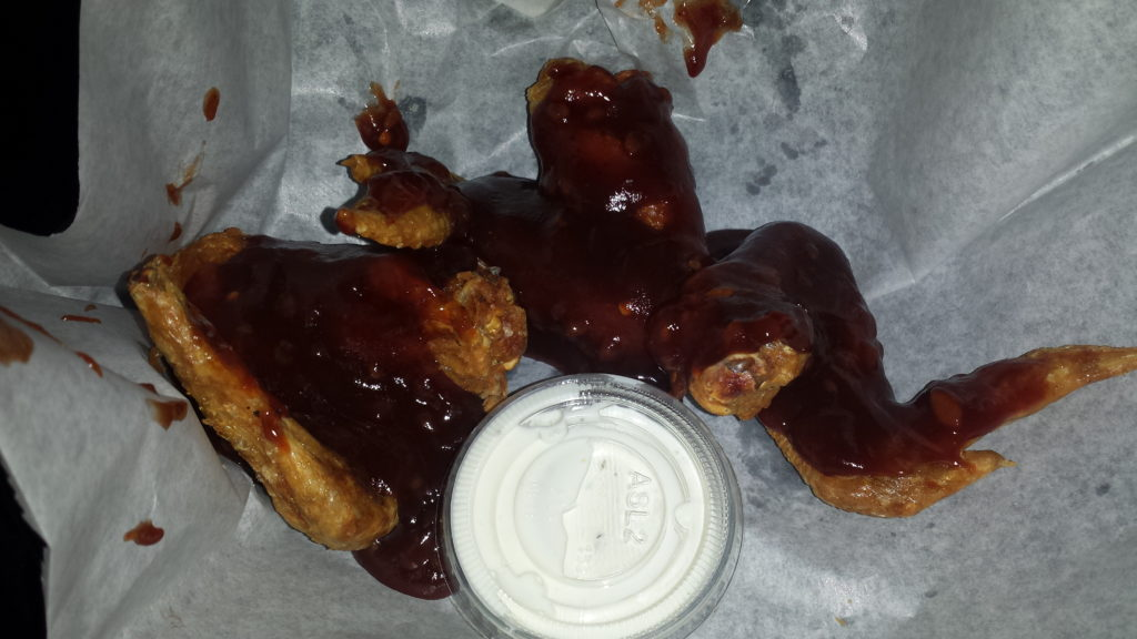 wing night at grotto bar and grille