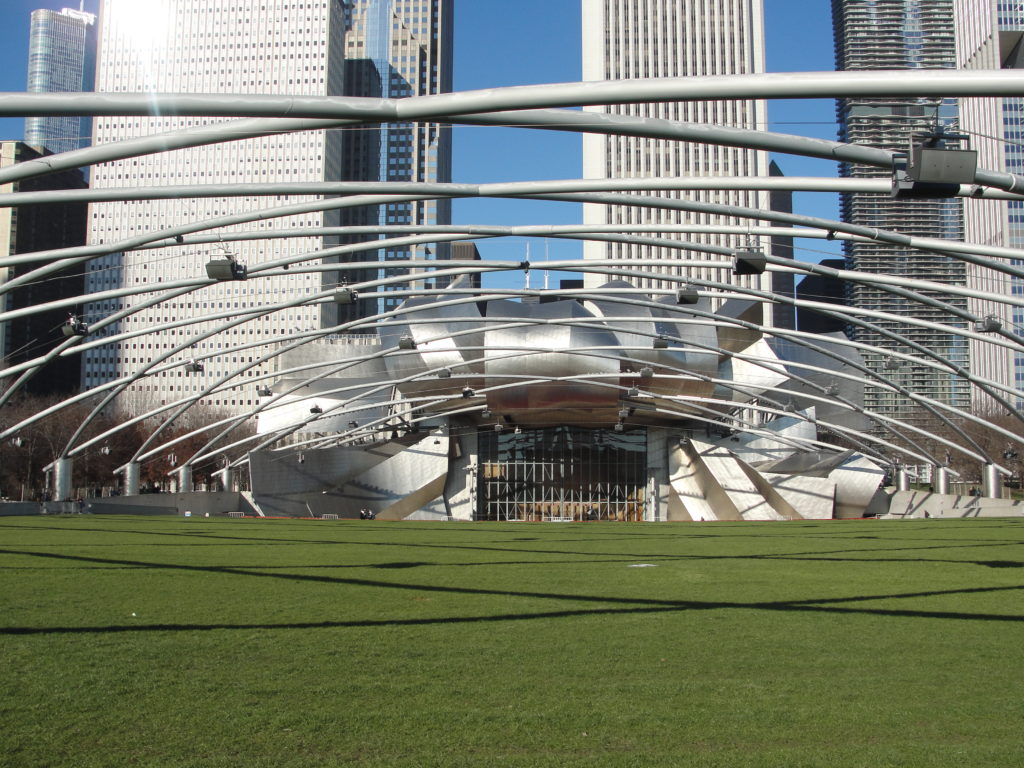 Jay Pritzker Pavilion chicago weekend trip
